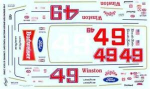 Powerslide #49 Brewster Baker Six Pack Thunderbird//Camaro Nascar decal