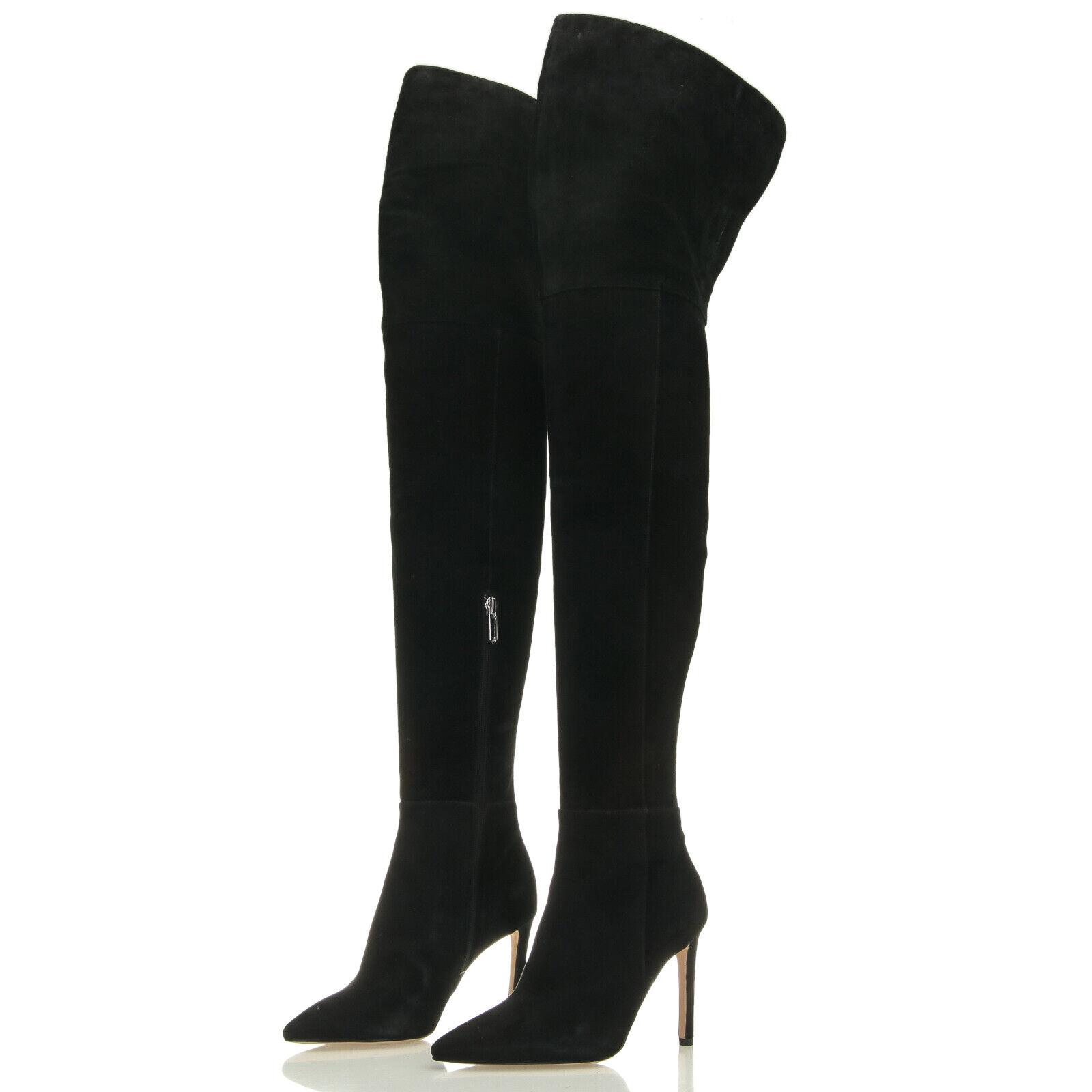 più economico Sam Edelman Bernadette Bernadette Bernadette nero Suede Over-the-Knee OTK stivali - Dimensione 5 M  acquisti online