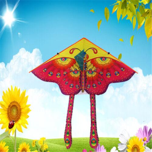 Géant 90cm papillon nouveauté animal cerf-volant enfants jouets en plein air