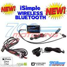 iSIMPLE ISFM2351 TRANZIT BLU HF MUSIC STREAMING HANDS FREE KIT WORKS ON ANY CAR