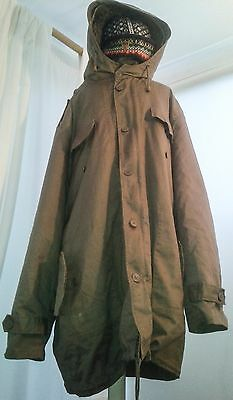 Vintage German cold weather parka Bushcraft fishing photography V WARM kit  XL