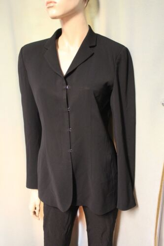 Blazer It 10 eyehook Emporio sluiting Jacket Black 40 Armani Us 8T74EWI7
