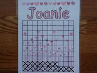 Reward, Incentive, Chore, Potty Training, Behavior or Reading Chart, Customize