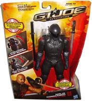 GI Joe Retaliation Snake Eyes 10 Inch Action Figure MIB Ninja Commando Hasbro