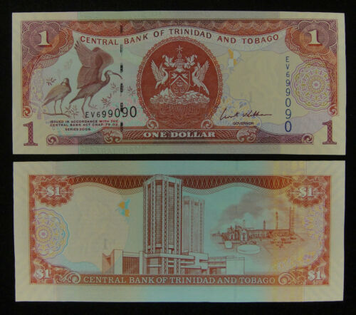 Trinidad and Tobago BANKNOTE 1 Dollar 2006 UNC