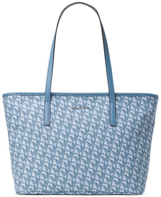 michael kors emry hayley cornflower blue top zip multifunction large rh ebay com