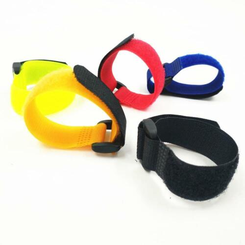 10//5pcs Fishing Rod Strap Tie Holder Suspenders Fastener Hook Cable Loop O9P1