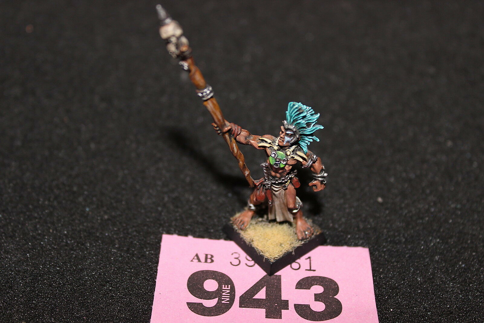 Games Workshop Warhammer Truthsayer of Albion Dogs of War OOP Metal Pro Painted