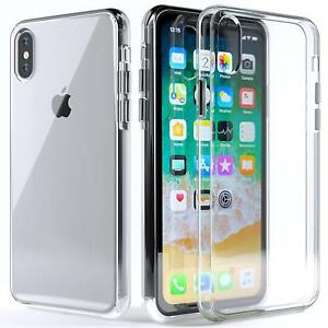 new product 642db bbd64 Details about For Apple iPhone XS Max XR Accessories Ultra Thin Clear Back  Hard Case Cover US