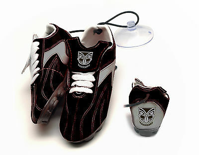 NRL TEAM New Zealand Warriors Hanging Suction Footy Boots Birthday Fathers Gift