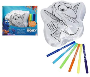 Enfants Disney Finding Dory Nemo Couloriez Votre Propre Coussin Crée Colorer