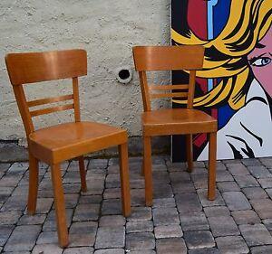 2 st ck kneipenstuhl frankfurter stuhl kaffeehausst hle stuhl chair buche massiv ebay - Stuhl buche massiv ...