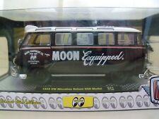 M2 Machines 1952 Beetle /& 1959 VW Microbus Set of 2 Mooneyes Hobby Moon01 1:24