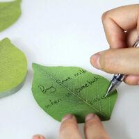 Simulation Green Tree Leaf Post-it Sticky Notes Memo Leaf-it Sticker Bookmark