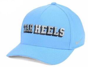 North Carolina Tar Heels Nike NCAA Verbiage Swoosh Classic Flex Cap ... b9517fd21161