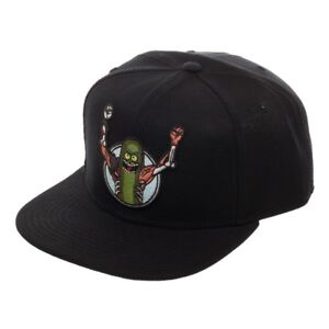 Rick and Morty PICKLE RICK Snapback Hat Cap Officially Licensed ... b3b1fc82b87e