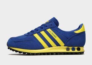 Adidas-Originals-La-Trainer-Azul-Royal-homens-sapatos-Estoque-Limitado