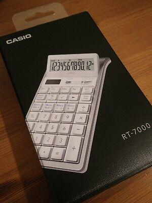 Casio Design Calcolatrice Elettronica Rt-7000-we Bianco- Vendite Economiche 50%