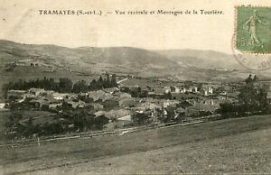 Carte-TRAMAYES-Vue-centrale-et-Montagne-de-la-Touriere