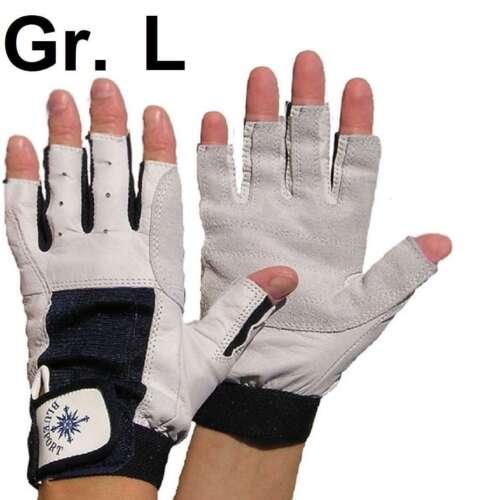 PROFI Rigger Gloves Roadie Handschuhe Gr. L / 9 fingerlos Leder Rigging Montage