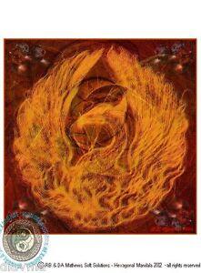 ART-HEALING-MANDALA-034-REBIRTH-034-spiritual-Original-artist-print-by-Bob