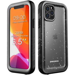 DWUSHA-Waterproof-Case-for-Apple-iPhone-11-Pro-Max-6-5-Inch-Rugged-Full-Cover