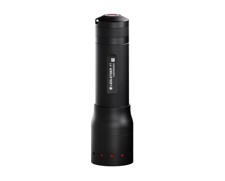 LED LENSER P7 450 LM Modell 2018 Taschenlampe ink. AAA Batterien & Corduratasche