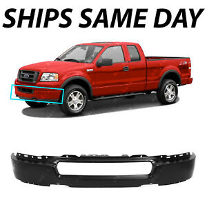 05 F150 Bumper >> Details About New Primered Steel Front Bumper Face Bar For 2004 2005 Ford F150 Pickup 04 05