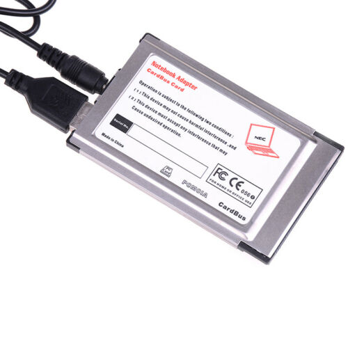New pcmcia to USB 2.0 cardbus 2 port 480M inside hide Mr