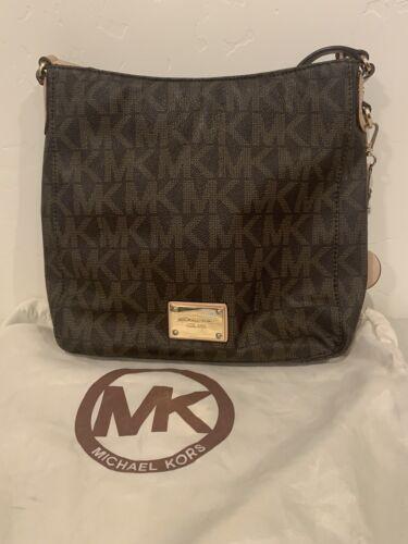 💎🔥💎🔥💎michael kors brown leather purse. Used B
