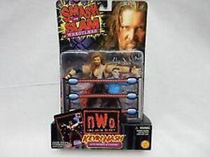 WCW-NWO-Kevin-Nash-with-Referee-Action-Figures-NIB-Smash-N-Slam-Wrestlers-NIP