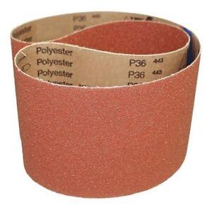 Medium Grade VSM 22702 Abrasive Belt Cloth Backing Pack of 10 60 Grit 10 Width 70-1//2 Length Aluminum Oxide Brown