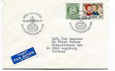 1979 Flight SAS Polarrute Oslo Los Angeles Norge Polar Antarctic Cover
