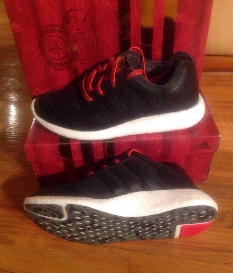 Adidas pureboost cny le donne scarpe taglia 9,5 nero nero nero b32696 180 dollari 40f83b