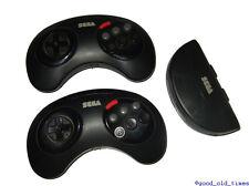 ## 2 original SEGA Mega Drive Infrarot Controller / Control Pads + Empfänger ##