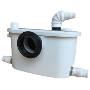 Macerator Pump 4 in 1 for Sanitary Waste Water for Toilet Shower Sink Best Spec