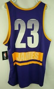 watch ab32f d6bce Lebron James Jersey Tank Top Shirt Mens Large La Los Angeles Lakers 23