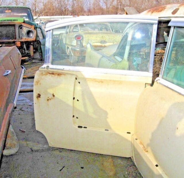 1956 Cadillac DeVille 4 Door Sedan Right Rear Door