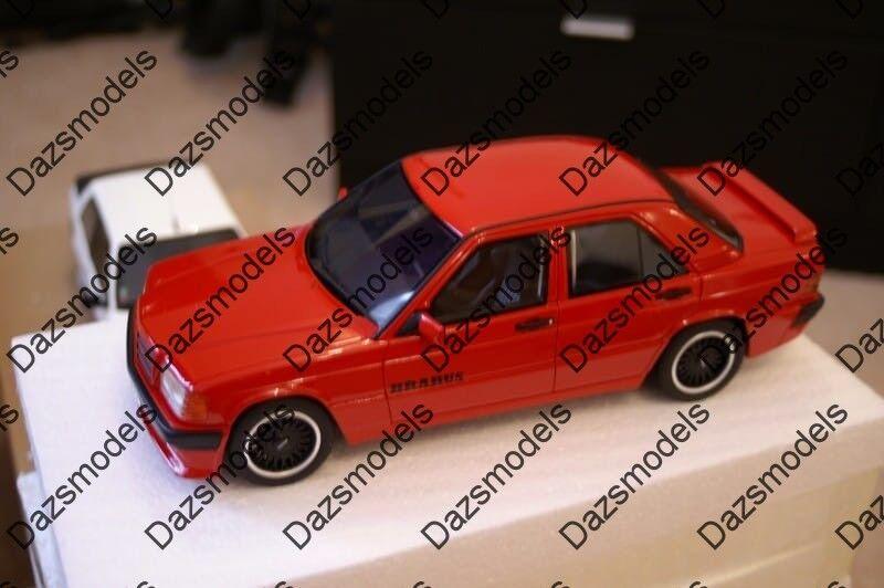 OTTO Mercedes  190e Brabus rouge 1 18 OT674  livraison gratuite