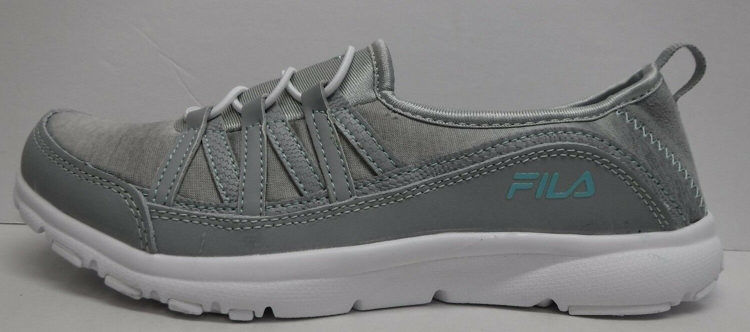 Fila Size 8.5 Gray Slip Shoes On Sneakers New Womens Shoes Slip cdd4f0