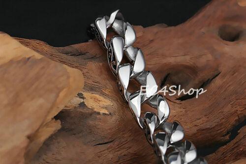 Acier Inoxydable Cubain Chaîne Tribal Bracelet Vintage Hommes Bracelet Biker Bijoux