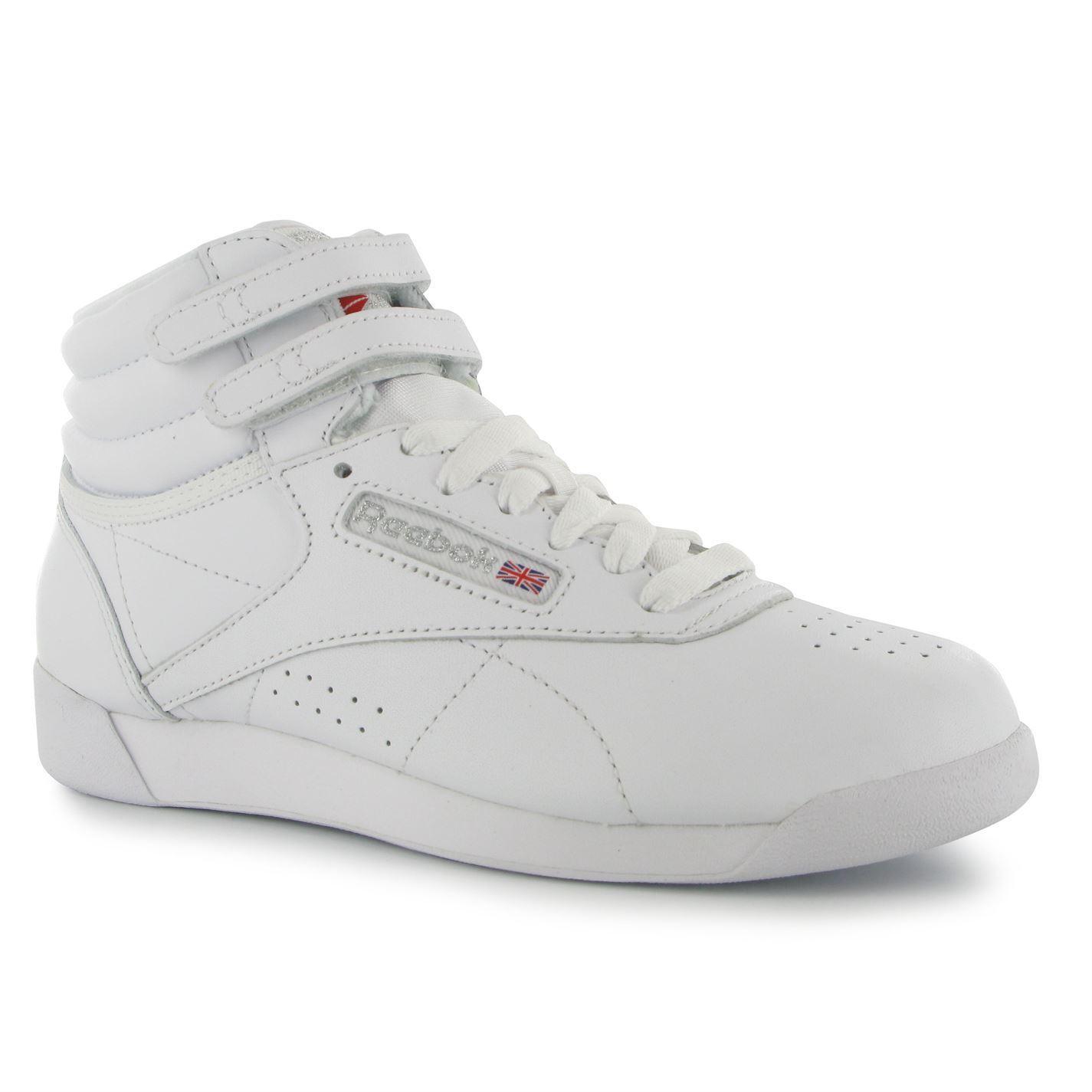 Reebok FreeStyle Donna Sneaker Alte US 5.5 EUR 35.5 cm 22.5 RIF. 5586 -