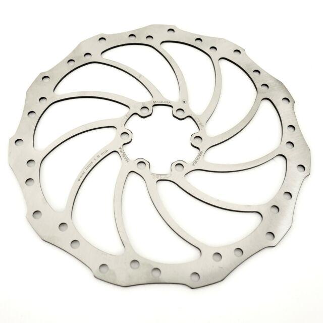 6-Bolt w//bolts NEW Magura Storm HC 180mm Bike Disc Brake Rotor