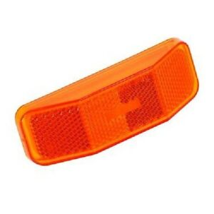 Set-of-5-Bargman-99-Side-Marker-Light-Replacement-Amber-Lens-FREE-SHIPPING
