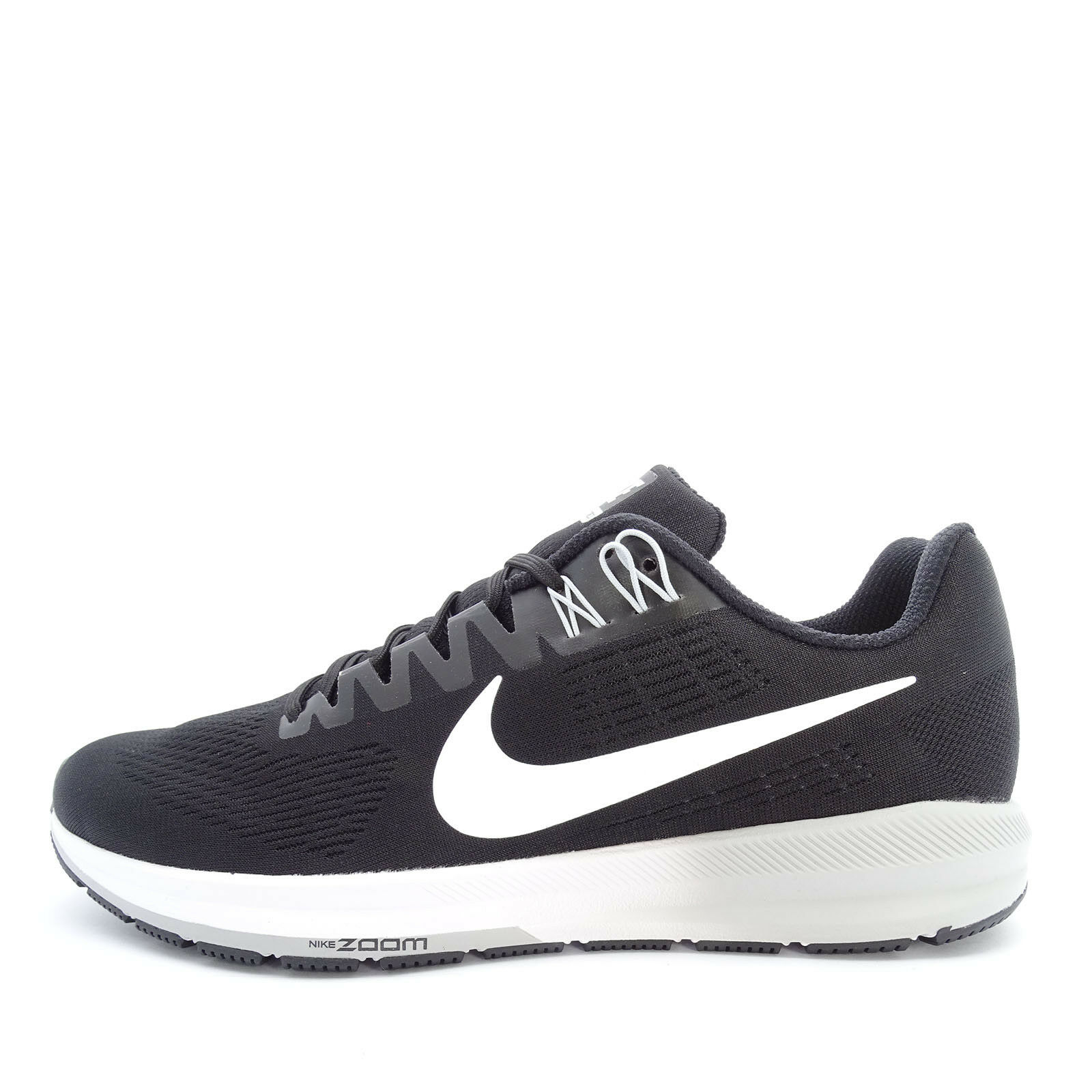 Nike Air Zoom Structure 21 [904695-001] Men Running shoes Black White-Grey
