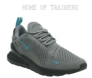 dcaab38e48 Nike Air Max 270 Cool Grey Blue Black Men's Trainers All Sizes | eBay