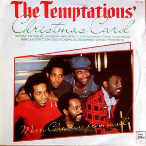 Temptations Christmas.Details About Temptations Christmas Card Hallmark Shm 3202 Vinyl Lp