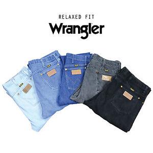 Vintage-Wrangler-Relaxed-Fit-Jeans-Denim-Klasse-A-w28-w30-w32-w34-w36-w38