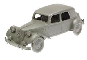 Model-Citroen-15-CV-1953-Danbury-Mint-Authentic-Scale-Replica-Pewter-Car