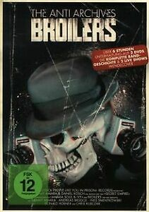 Broilers-Anti-Archives-2-DVDs-Limited-Edition-DVD-Zustand-gut